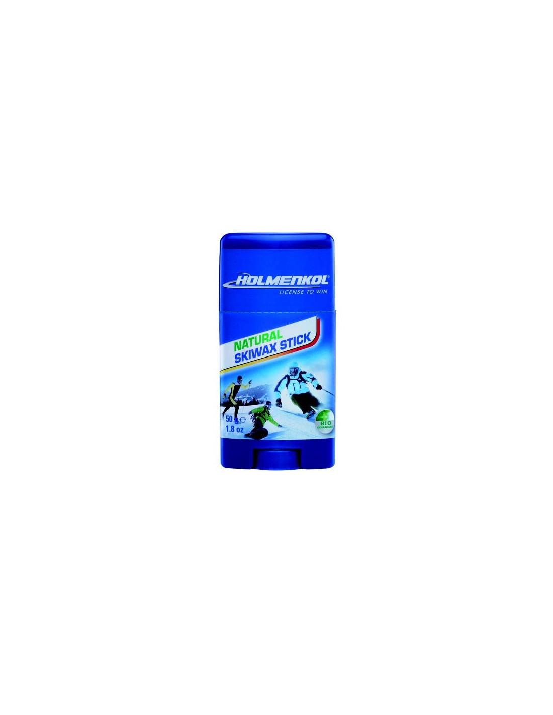 Holmenkol Natural Skiwax Stick Wachsqualität - Universal/Allroundwachs, Einsatz