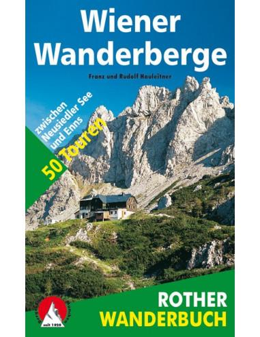 Rother Wanderbuch Wiener Wanderberge von Bergverlag Rother