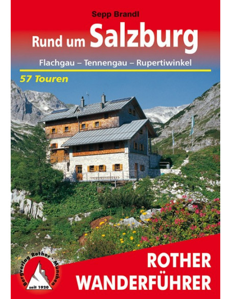 Rother Wanderführer Rund um Salzbug von Bergverlag Rother