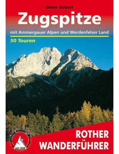Rother Wanderführer Rund um die Zugspitze von Bergverlag Rother