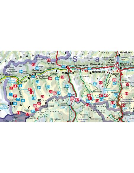 Rother Wanderführer Nationalpark Hohe Tauern Nord von Bergverlag Rother