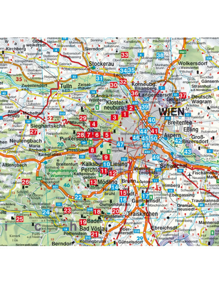 Rother Wanderführer Wien, Wienerwald von Bergverlag Rother