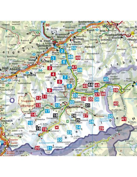 Rother Wanderführer Zillertal von Bergverlag Rother