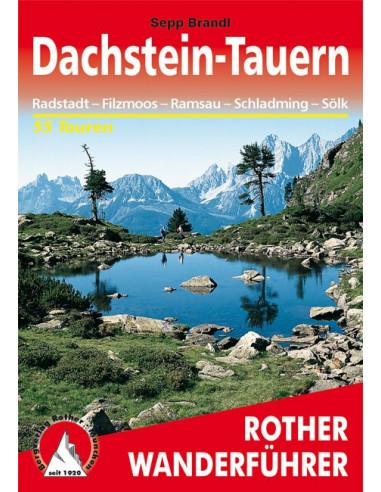 Rother Wanderführer Dachstein Tauern von Bergverlag Rother