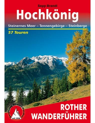 Rother Wanderführer Rund um den Hochkönig von Bergverlag Rother