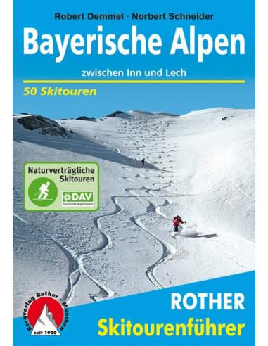 Rother Skitourenführer Bayrische Alpen von Bergverlag Rother