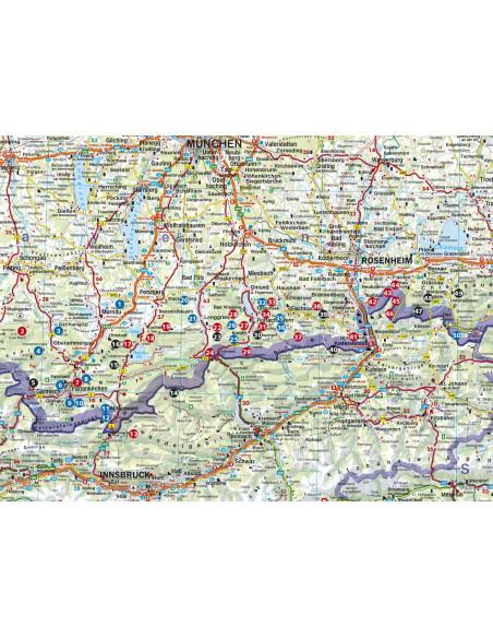 Rother Wanderbuch Winterwandern Bayrische Alpen von Bergverlag Rother