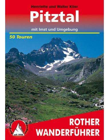 Rother Wanderführer Pitztal mit Imst und Umgebung von Bergverlag Rother