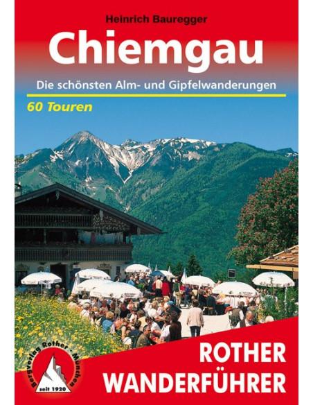 Rother Wanderführer Chiemgau von Bergverlag Rother