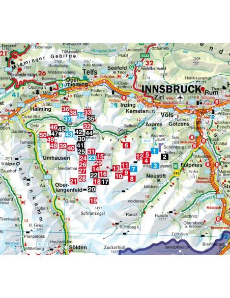Rother Skitourenführer Sellrain - Kühtai von Bergverlag Rother