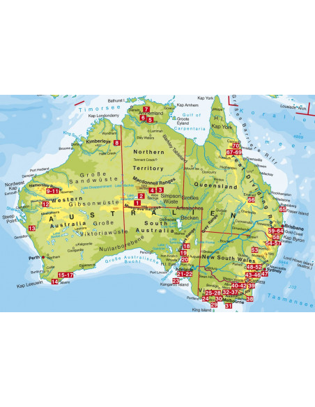 Rother Wanderführer Australien von Bergverlag Rother