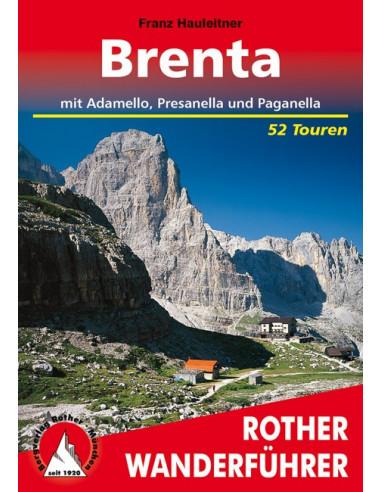 Rother Wanderführer Brenta von Bergverlag Rother
