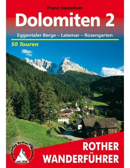 Rother Wanderführer Dolomiten 2 von Bergverlag Rother