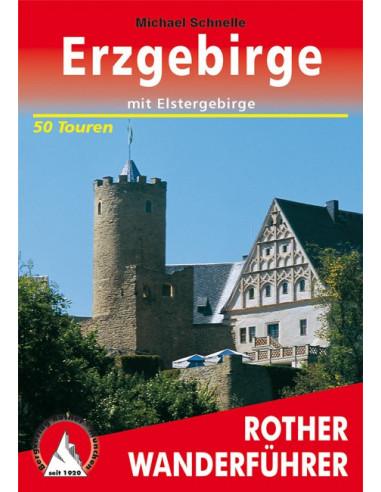 Rother Wanderführer Erzgebirge von Bergverlag Rother