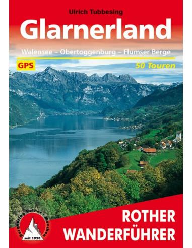 Rother Wanderführer Glarnerland von Bergverlag Rother