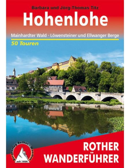 Rother Wanderführer Hohenlohe von Bergverlag Rother