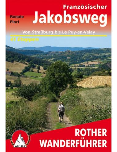 Rother Wanderführer Französischer Jakobsweg von Bergverlag Rother