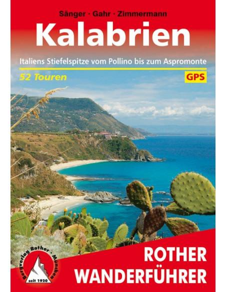Rother Wanderführer Kalabrien von Bergverlag Rother