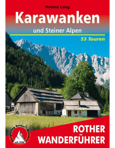 Rother Wanderführer Karawanken von Bergverlag Rother
