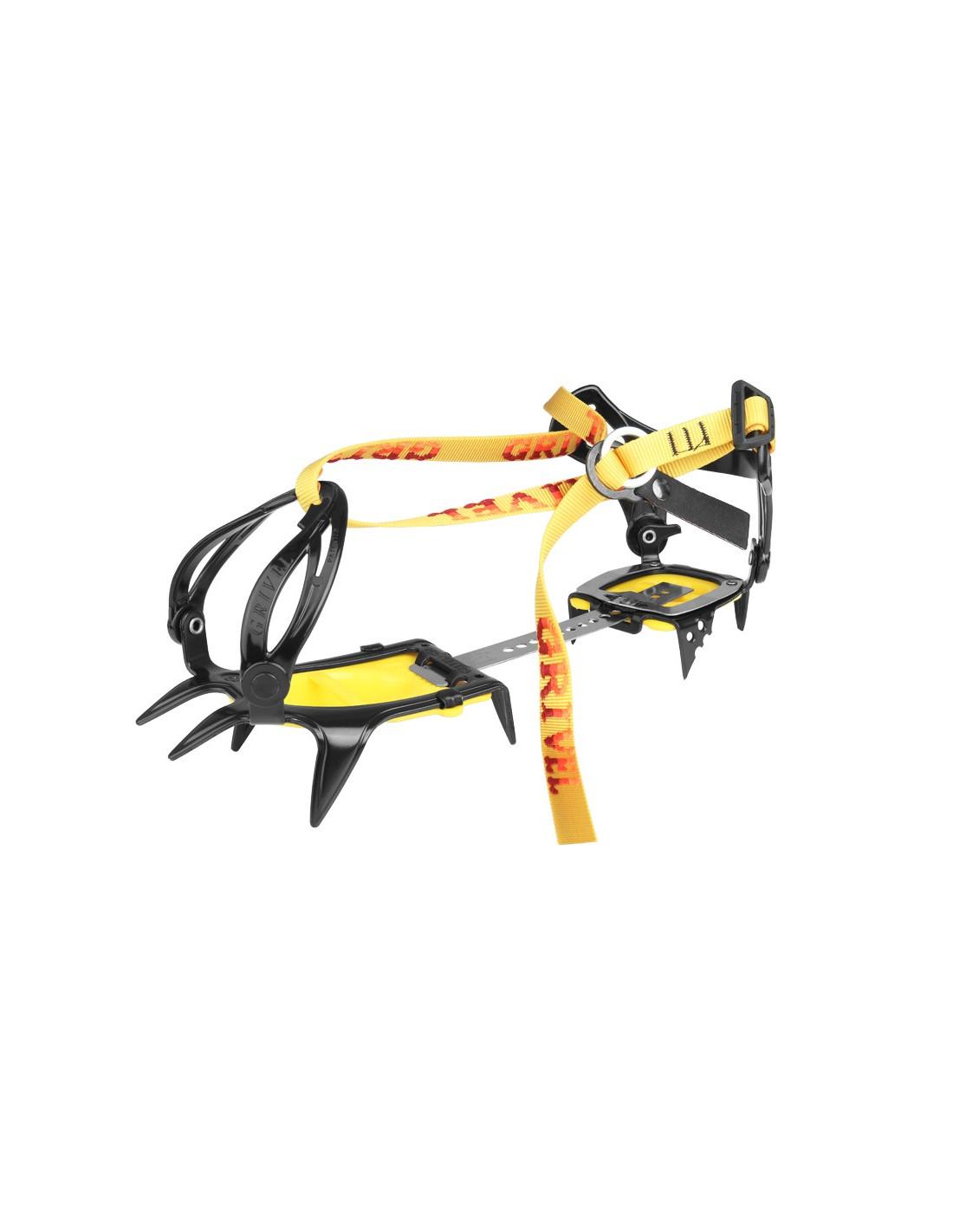 Grivel Steigeisen G10 Wide Steigeisenverwendung - Eisklettern, Zackenanzahl - 10