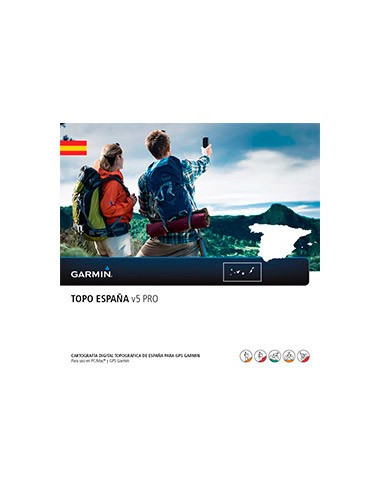 Garmin GPS Zubehör TOPO España v5 PRO von Garmin