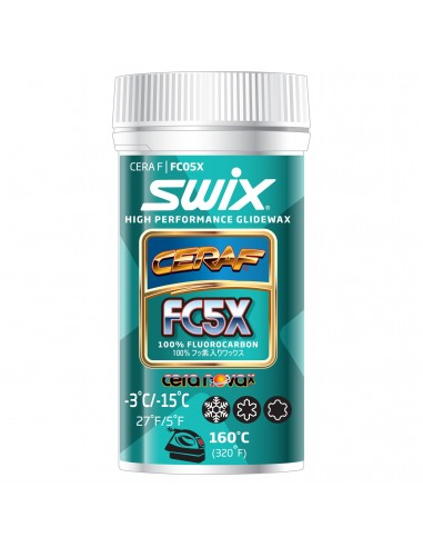 Swix FC5X Cera F powder, 30g von Swix
