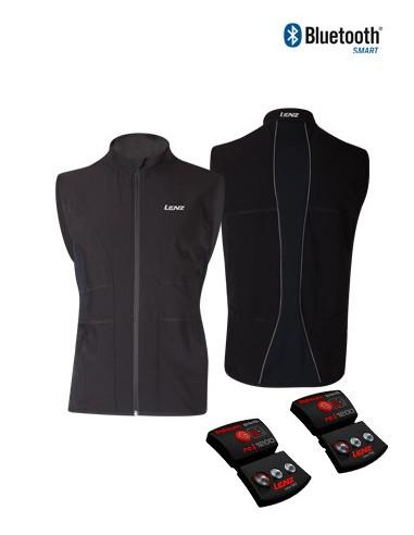Lenz Products Set of Heat Vest 1.0 Men + Lithium Pack rcB 1800 von Lenz