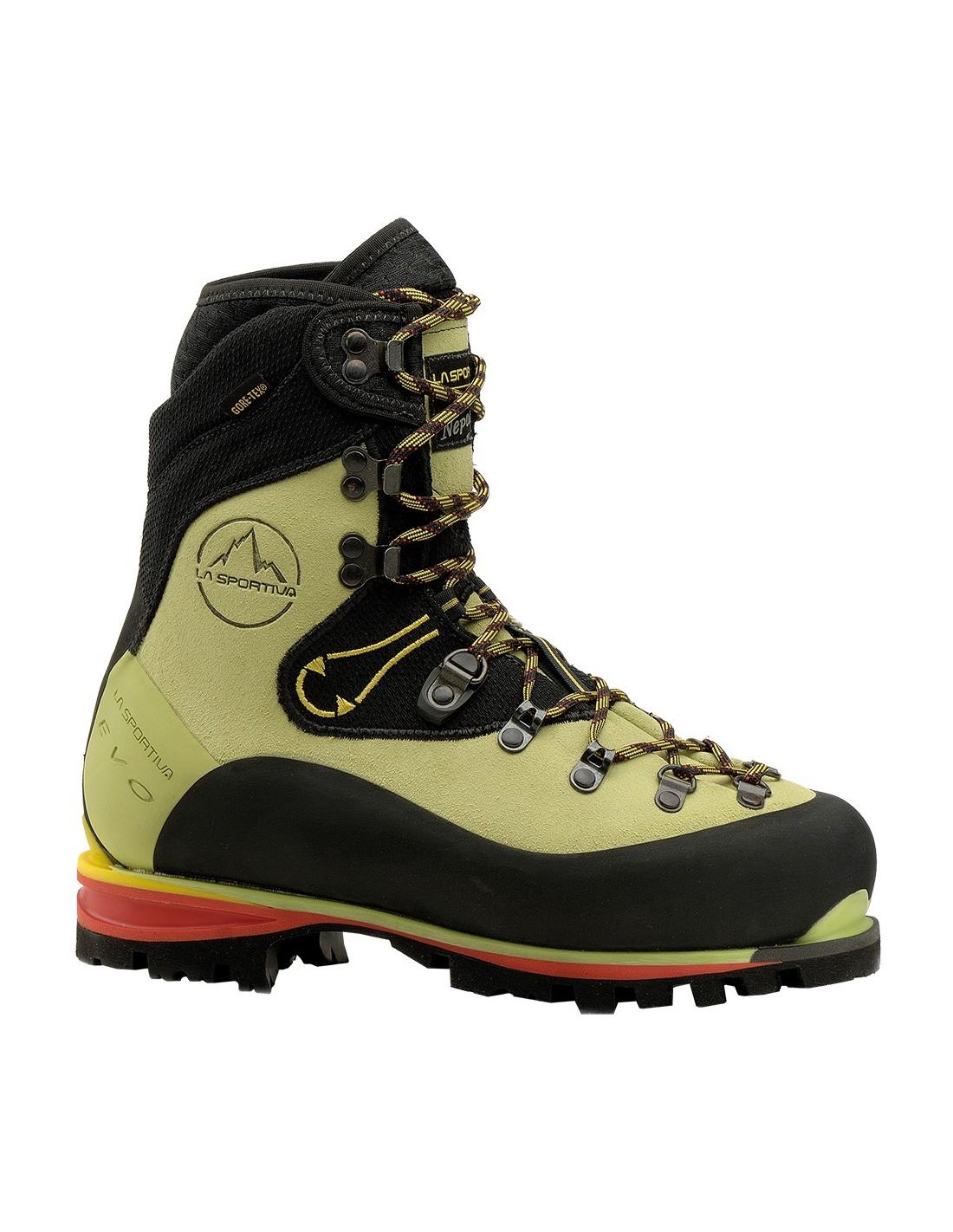 Schuh Nepal Evo GTX Woman Schuhgröße - 41, Schuhkategorie - Klassische Hochtouren, Schuhverschluss - Schnürer, Schuhfarbe - Lime,