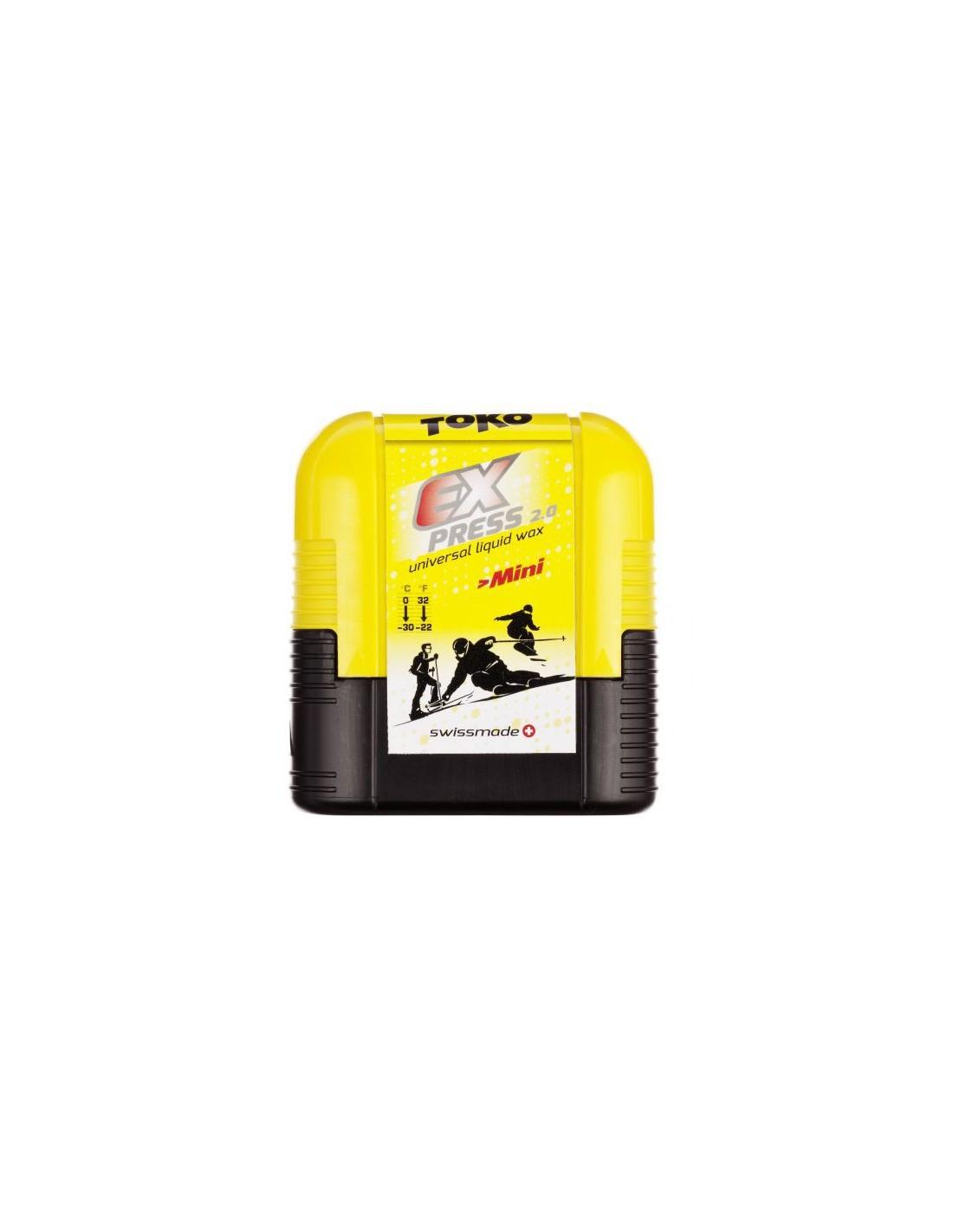 Toko Express Mini 75ml Wachsart - Flüssigwachs, Wachs Toko - Universalwachs, Wa