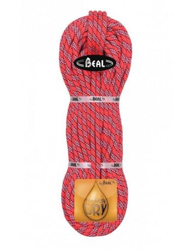 Beal Kletterseil 9,1 mm Joker Unicore - Golden Dry, orange, 70 m von Beal