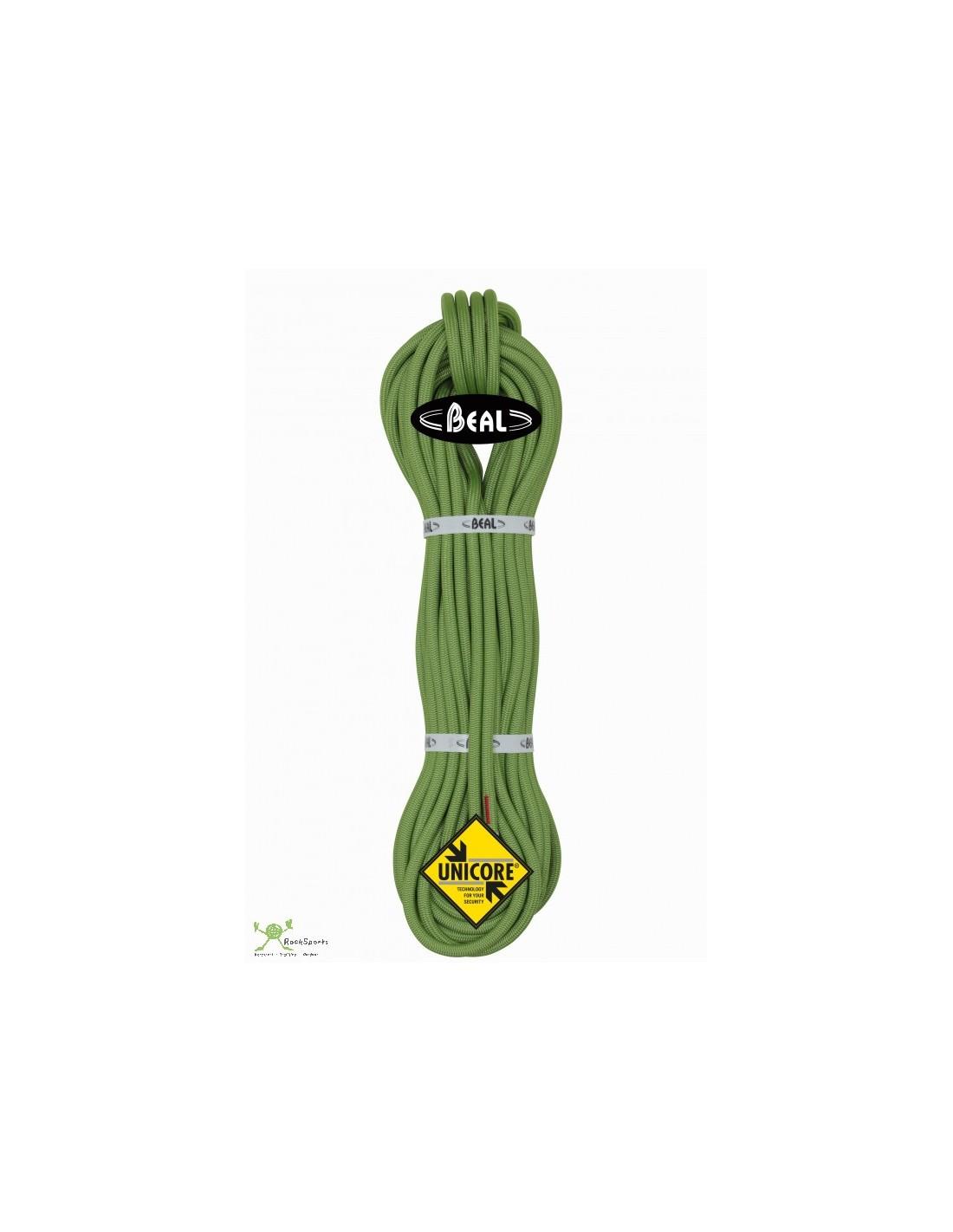 Beal Kletterseil 10,2 mm Wall School Unicore, grün, 20 m Seildurchmesser - 10.1
