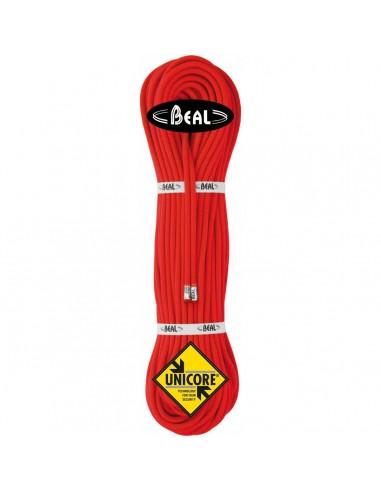 Beal Kletterseil 7,3mm Gully Unicore - Golden Dry, orange, 60 m von Beal
