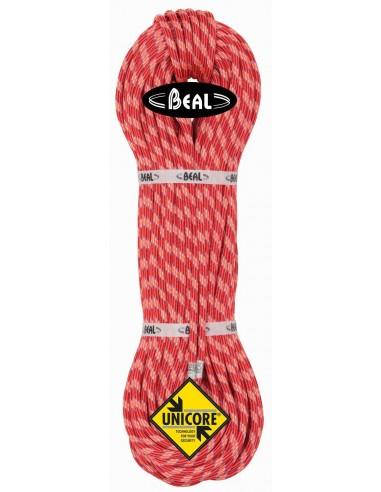 Beal Kletterseil 8,1 mm Ice Line Unicore - Golden Dry, orange, 60 m von Beal