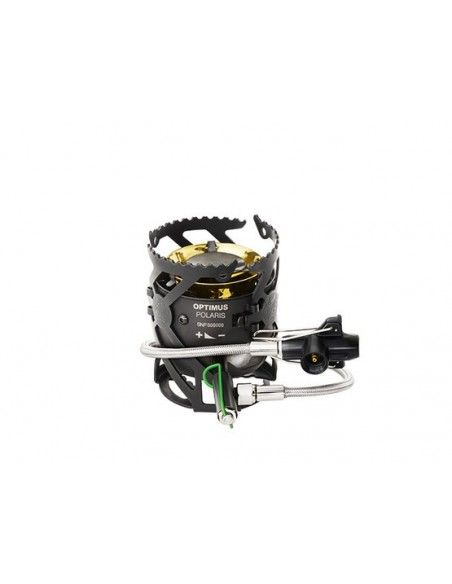 Optimus Kocher Polaris Optifuel inklusive 0.4 l Brennstoffflasche von Optimus