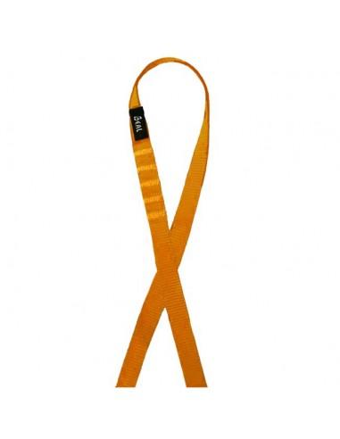 Beal Bandschlinge Flat Sling 120 cm, orange von Beal