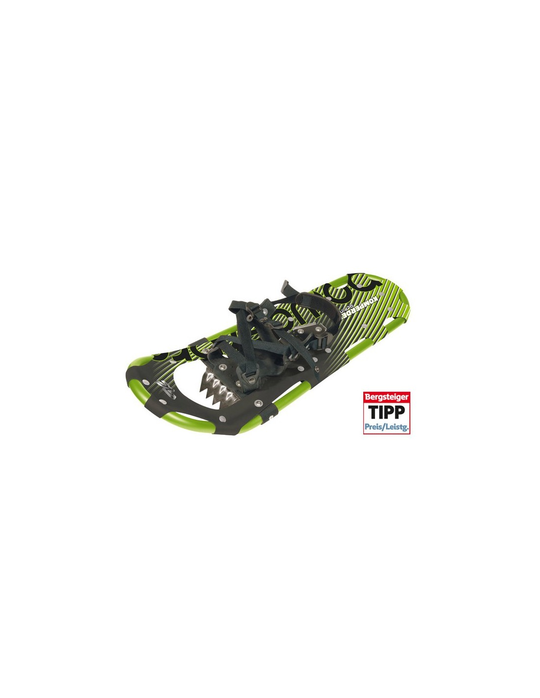 Komperdell Schneeschuh Alpinist 25 Schneeschuhfarbe - Grün, Eignung - 71 - 80 k