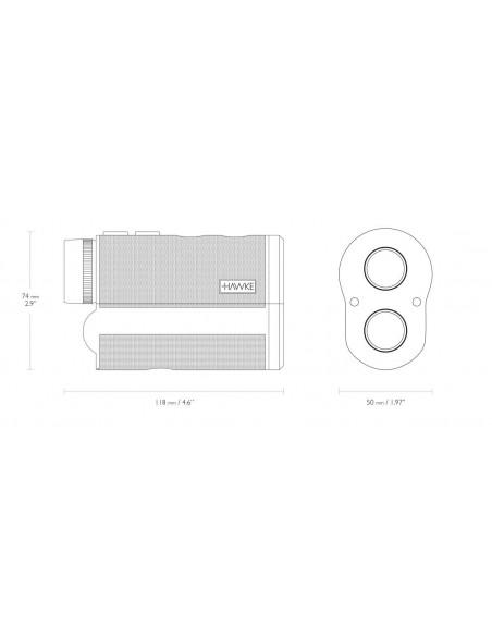 Hawke Entfernungsmesser Laser Range Finder Professional 900 von Hawke
