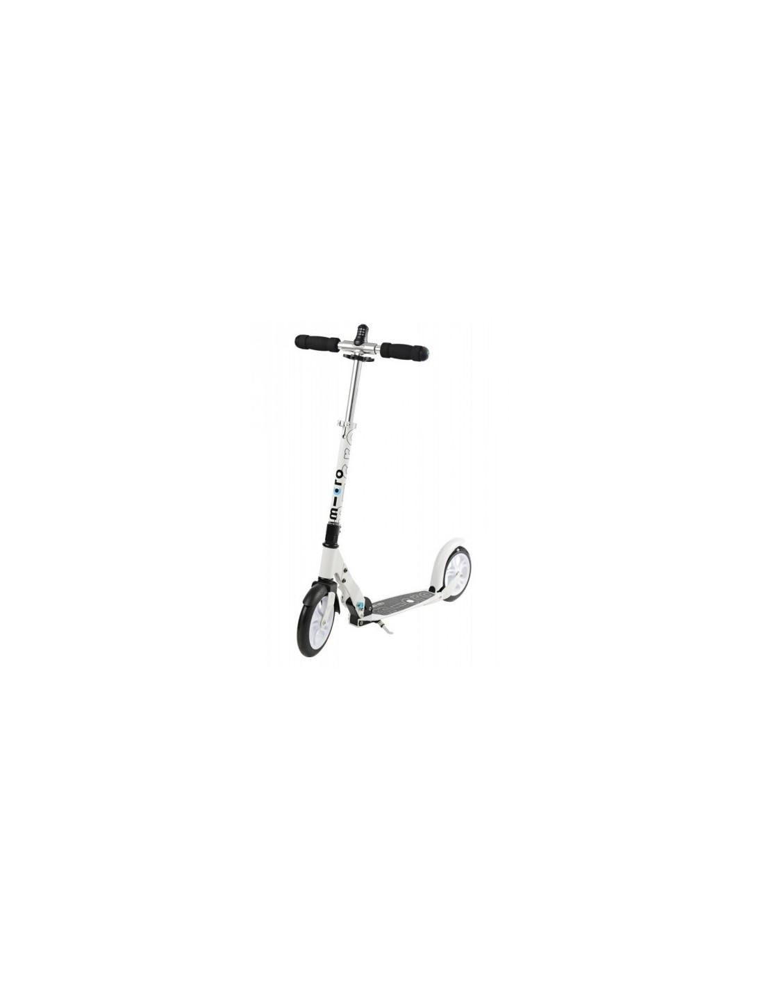 micro scooter white 200mm interlock zum bestpreis kaufen. Black Bedroom Furniture Sets. Home Design Ideas