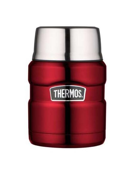 "Thermos Speisegefäß \\""Stainless King\\"", 0,47 Liter, Rot von Thermos"