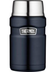 """Thermos Speisegefäß \\""""Stainless King\\"""", 0,71 Liter, matt schwarz von Thermos"""
