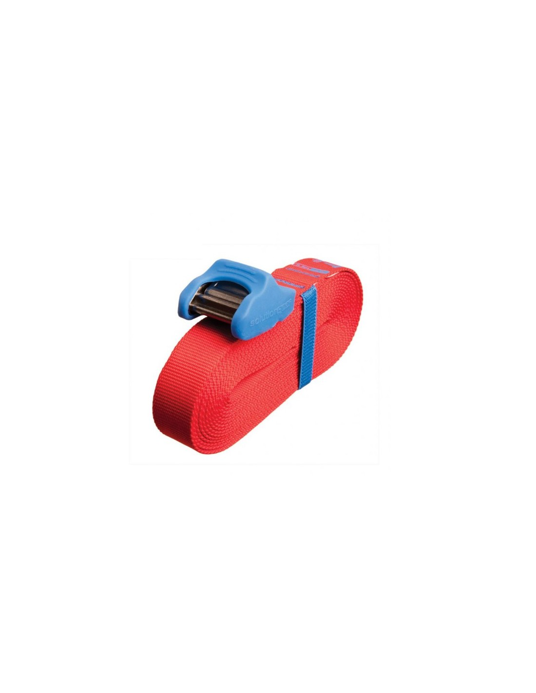 Sea To Summit Tie Down Strap with Silicone Cam Cover 5,5m (Pair) Red/Blue