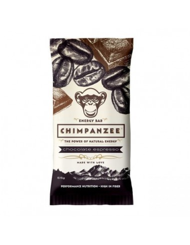 Chimpanzee All Natural Energy Bar Chocolate Espresso von Chimpanzee