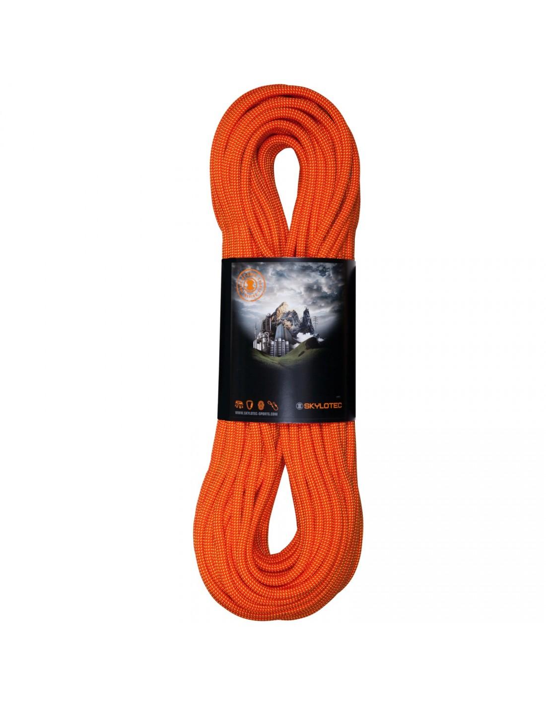 Skylotec Kletterseil New Way 9,4 80m orange Seilgewicht - 56 - 60 g / m, Seillä