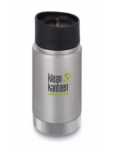 Klean Kanteen Trinkflasche Wide vakuumisoliert 355ml Brushed Stainless von Klean Kanteen