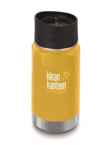 Klean Kanteen Trinkflasche Wide vakuumisoliert 355ml Lemon Curry von Klean Kanteen