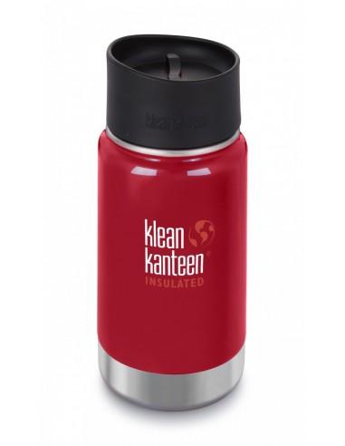 Klean Kanteen Trinkflasche Wide vakuumisoliert 355ml Mineral Red von Klean Kanteen