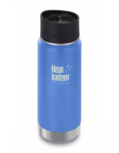 Klean Kanteen Trinkflasche Wide vakuumisoliert 473ml Café Cap Pacific Sky von Klean Kanteen