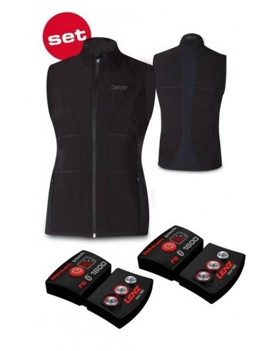 Lenz Products Set of Heat Vest 1.0 Women + Lithium Pack rcB 1800 von Lenz