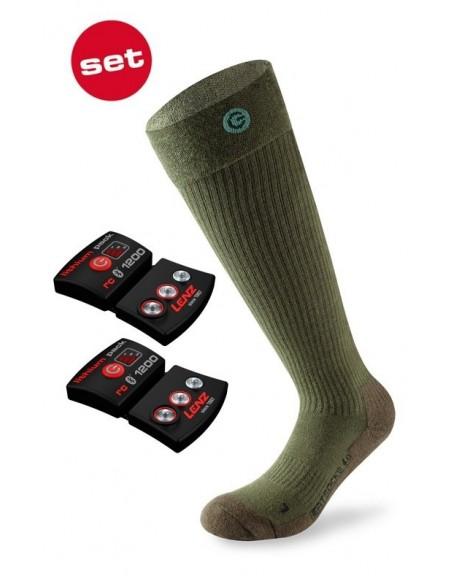 Lenz Products Set of Heat Sock 4.0 Toe Caps + rcB 1200 von Lenz