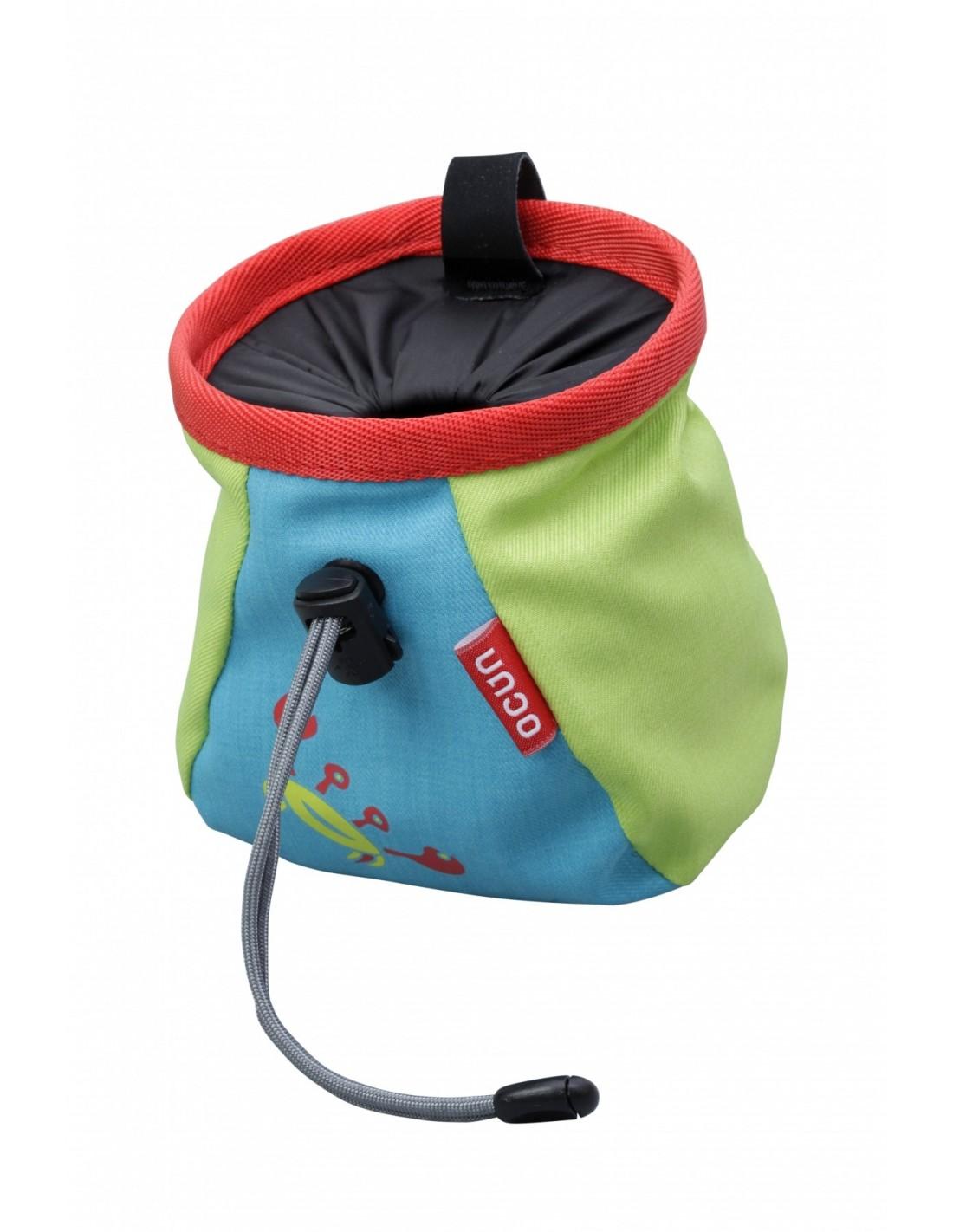 Ocun Chalkbag Lucks Kid - Blue Chalkbag Verwendung - Klettern, Chalkbag Farbe -